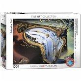 Eurographics 6000-0842 - Weiche Uhr im Moment ihrer ersten Explosion von Salvador Dalí, Puzzle
