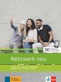 Netzwerk neu A2.1. Kurs- und Übungsbuch mit Audios und Videos