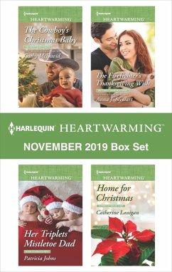 Harlequin Heartwarming November 2019 Box Set (eBook, ePUB) - Mcdavid, Cathy; Stewart, Anna J.; Lanigan, Catherine; Johns, Patricia