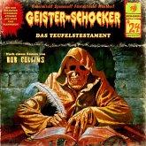 Geister-Schocker, Folge 24: Das Teufelstestament (MP3-Download)