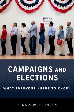 Campaigns and Elections (eBook, PDF) - Johnson, Dennis W.