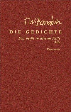 Die Gedichte (eBook, ePUB) - Bernstein, F. W.