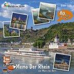 FindeFuxx Memo Der Rhein, m. 1 Buch