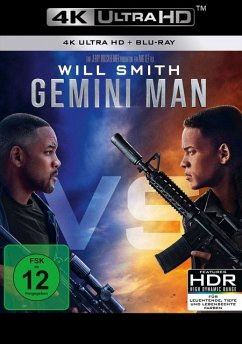 Gemini Man - 2 Disc Bluray - Will Smith,Mary Elizabeth Winstead,Clive Owen
