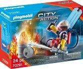 "PLAYMOBIL® 70291 Geschenkset ""Feuerwehr"""