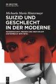 Suizid und Geschlecht in der Moderne