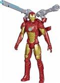 Hasbro E73805LO - Marvel Avengers Titan Hero Serie Blast Gear Iron Man, mit Starter, Action-Figur, 30 cm