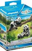 PLAYMOBIL® 70353 2 Pandas mit Baby