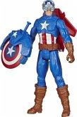 Hasbro E73745L0 - Marvel Avengers Titan Hero Serie Blast Gear Captain America, Action Figur, 30 cm