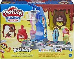 Hasbro E66885L0 Play-Doh Drizzy Eismaschine mit Toppings