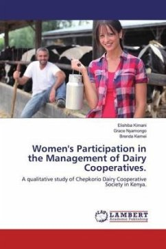 Women's Participation in the Management of Dairy Cooperatives.