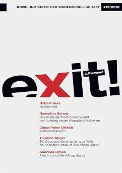 exit! Krise und Kritik der Warengesellschaft (Mängelexemplar)