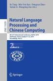 Natural Language Processing and Chinese Computing (eBook, PDF)