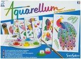 Aquarell-Malerei - Aquarellum Postkarten Tiere
