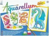 Aquarell-Malerei - Aquarellum Junior Drachen