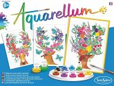 Aquarell-Malerei - Aquarellum Hirsche