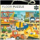 Bodenpuzzle - Floor Puzzle Baustelle (Kinderpuzzle)