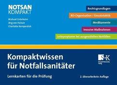Kompaktwissen für Notfallsanitäter - Grönheim, Michael; van Hulsen, Jörg; Kemperdick, Charlotte