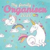 My Family Organiser Unicorn