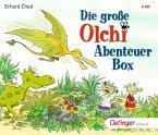 Die große Olchi-Abenteuer-Box, 3 Audio-CD