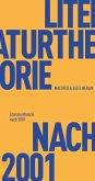 Literaturtheorie nach 2001