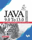 JAVA 9.0 To 13.0 New Features: Learn, Implement and Migrate to New Version of Java.