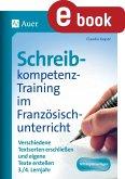 Schreibkompetenz-Training im Französischunterricht (eBook, PDF)