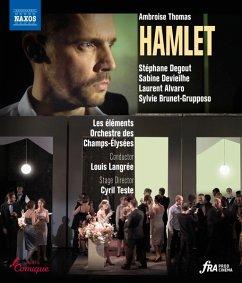 Hamlet [Blu-Ray] - Devieilhe/Degout/Langrée/Orchestre Des Champs-Élys
