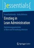 Einstieg in Lean Administration (eBook, PDF)