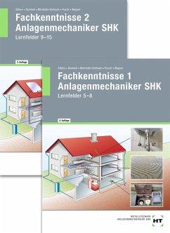 Paketangebot Fachkenntnisse Anlagenmechaniker SHK 1 + 2 - Albers, Joachim; Dommel, Rainer; Montaldo-Ventsam, Henry; Pusch, Peter; Wagner, Josef