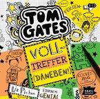 Volltreffer (Daneben!) / Tom Gates Bd.10 (2 Audio-CDs)