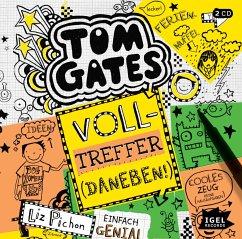 Volltreffer (Daneben!) / Tom Gates Bd.10 (2 Audio-CDs) - Pichon, Liz