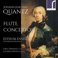 Flötenkonzerte - Dikmans,Greg/Moon,Lucinda/Elysium Ensemble