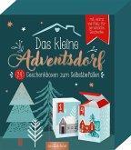 Das kleine Adventsdorf. 24 Geschenkboxen zum Selbstbefüllen