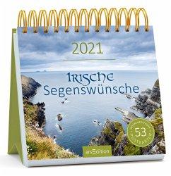 Postkartenkalender Irische Segenswünsche 2021
