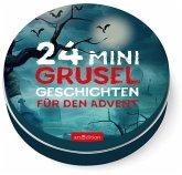 Adventskalender in der Dose: 24 Mini-Gruselgeschichten für den Advent