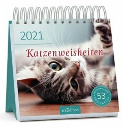 Postkartenkalender Katzenweisheiten 2021