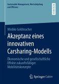 Akzeptanz eines innovativen Carsharing-Modells