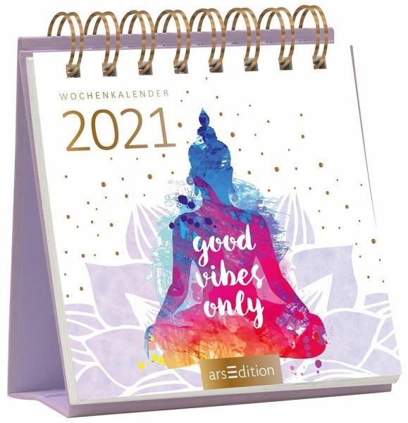 Miniwochenkalender 365 Tage Gelassenheit 2021 - kleiner ...