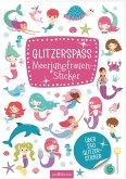 Glitzerspaß Meerjungfrauen-Sticker