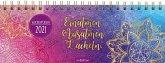 Tischkalender Einatmen. Ausatmen. Lächeln. 2021 - praktischer Terminplaner mit Wochenkalendarium