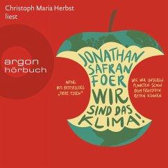 Wir sind das Klima!, (Gekürzte Lesung) (MP3-Download) - Foer, Jonathan Safran