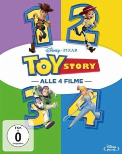 Toy Story 1-4 BLU-RAY Box
