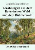 Erzählungen aus dem Bayerischen Wald und dem Böhmerwald (Großdruck)