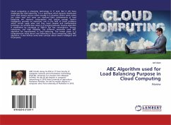 ABC Algorithm used for Load Balancing Purpose in Cloud Computing