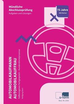 Automobilkaufmann/Automobilkauffrau (AO 2017) - Eberl, Wolfgang