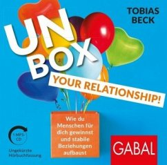 Unbox your Relationship!, 1 MP3-CD - Beck, Tobias