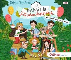 Wir haben was zu feiern / Familie Flickenteppich Bd.2 (3 Audio-CDs) - Taschinski, Stefanie