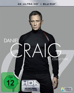 James Bond: Daniel Craig Collection 4K Ultra HD Blu-ray + Blu-ray