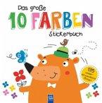 Das große 10 Farben Stickerbuch (Mängelexemplar)